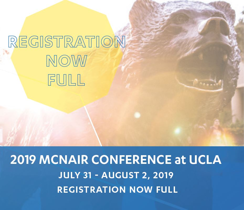 McNair Registration Now Full