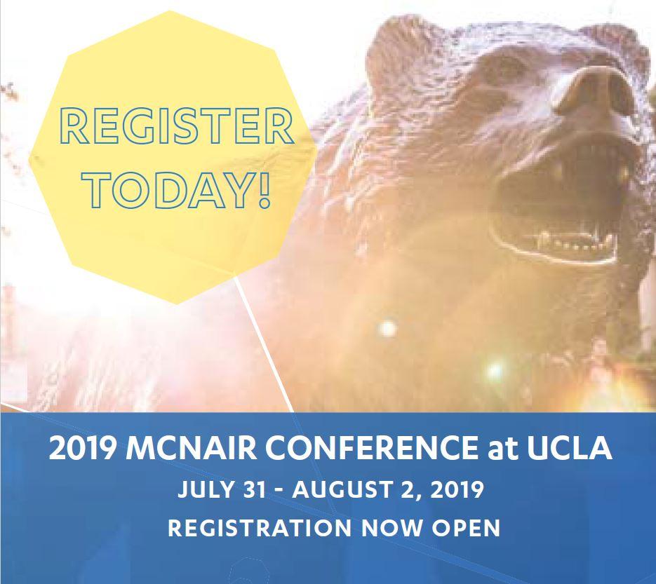2019 McNair Conference at UCLA