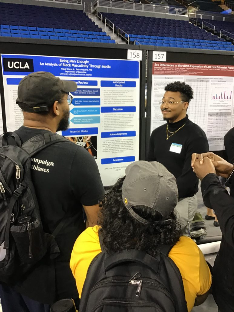 Undergraduate Research Week - Miguel Claros Jr. Poster Presentation