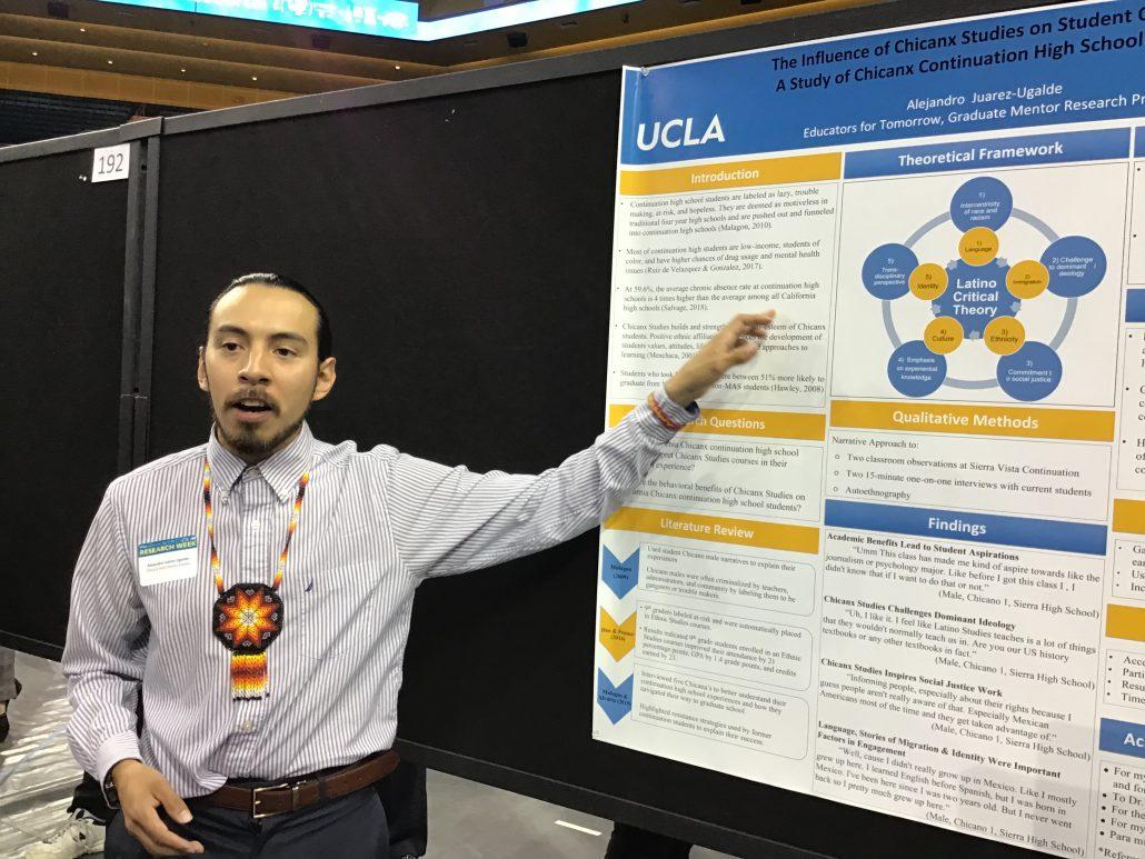 Undergraduate Research Week - Alejandro Juarez-Ugalde Poster Presentation